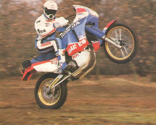 Cyril Neveu Wheelie